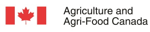 Agriculture and Agri-Food Canada logo.