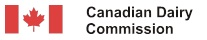 Canadian Dairy Commission logo.