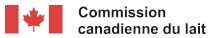 Logo de la Commission canadienne du lait