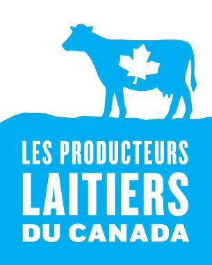Logo des Producteurs laitiers du Canada