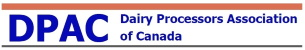 Dairy Processors Association of Canada logo.